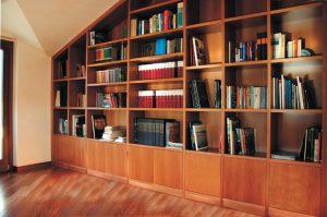 Libreria mansarda